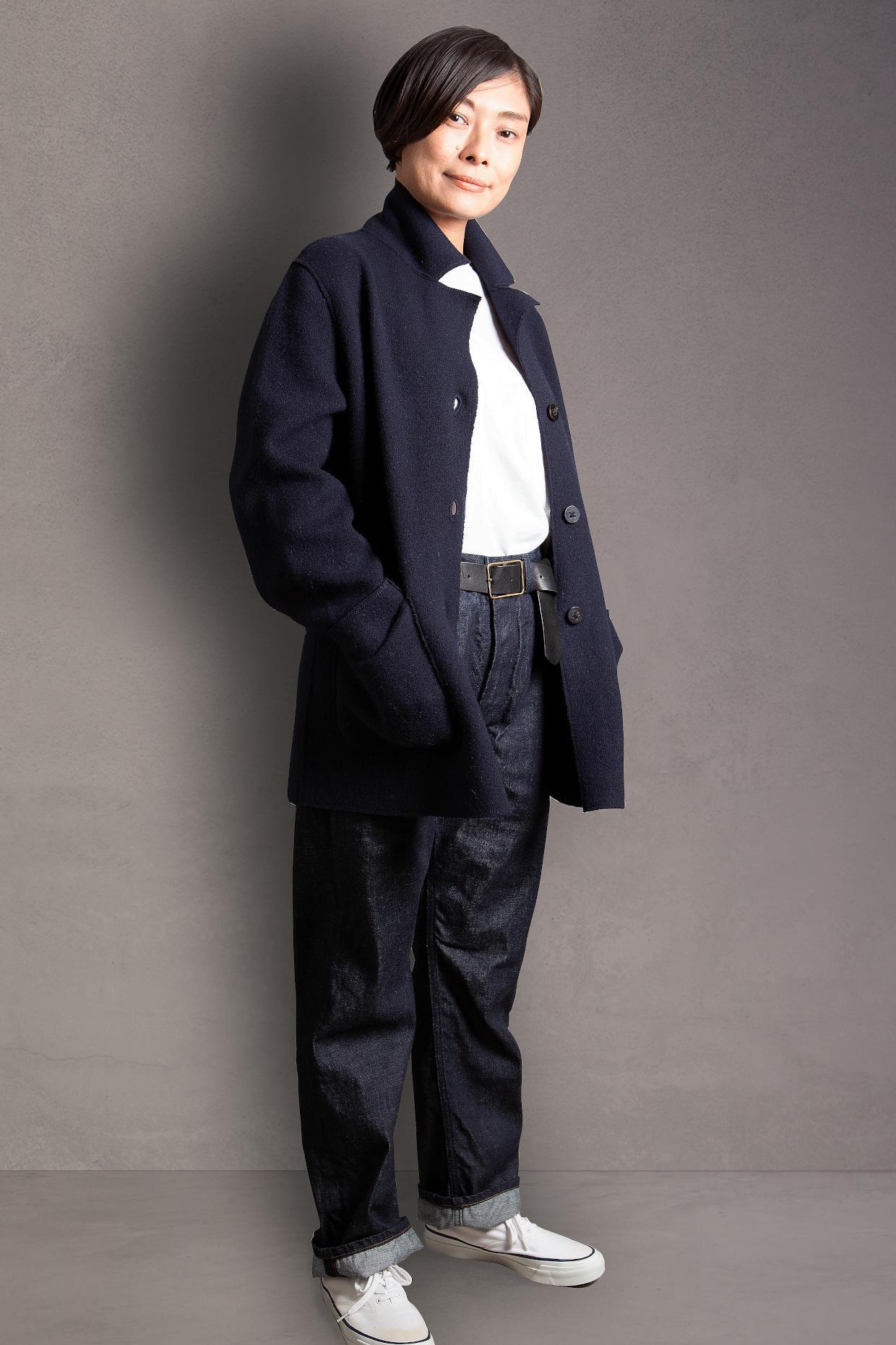 blazer cashmere